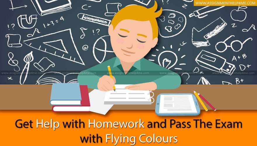 Get Help with Homework and Pass the Exam with Flying Colours