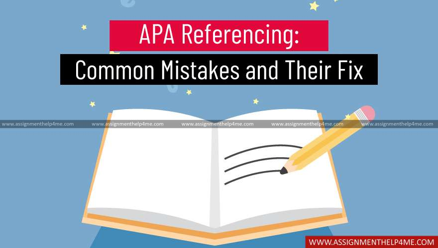 APA Referencing: Common Mistakes and Their Fix