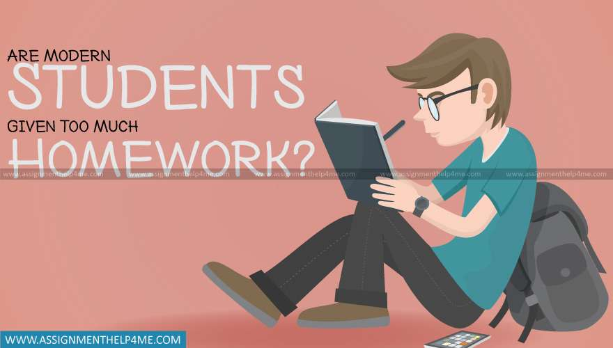 Are Modern Students Given Too Much Homework?