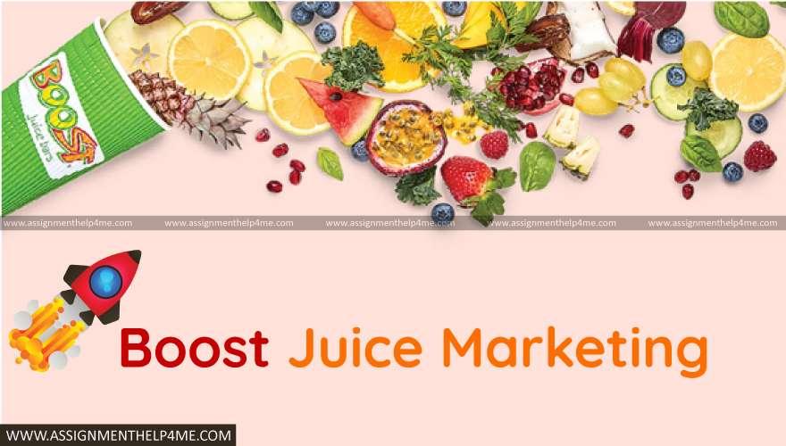 Boost Juice Marketing