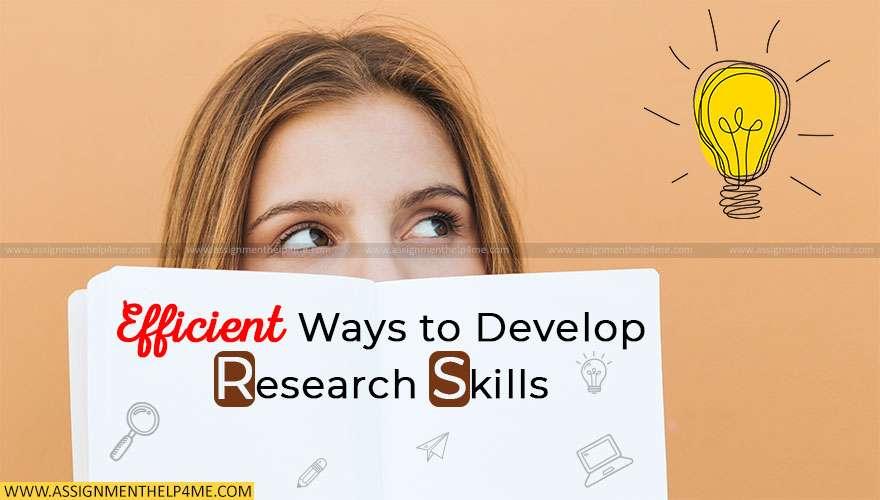 Efficient Ways to Develop Research Skills