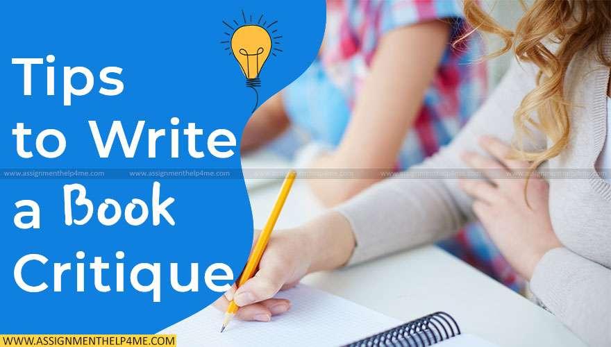 Tips to Write a Book Critique