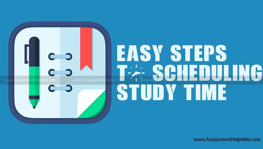7 Easy Steps to Schedule Your Study Time