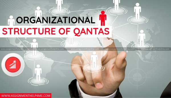 Organizational Structure of Qantas