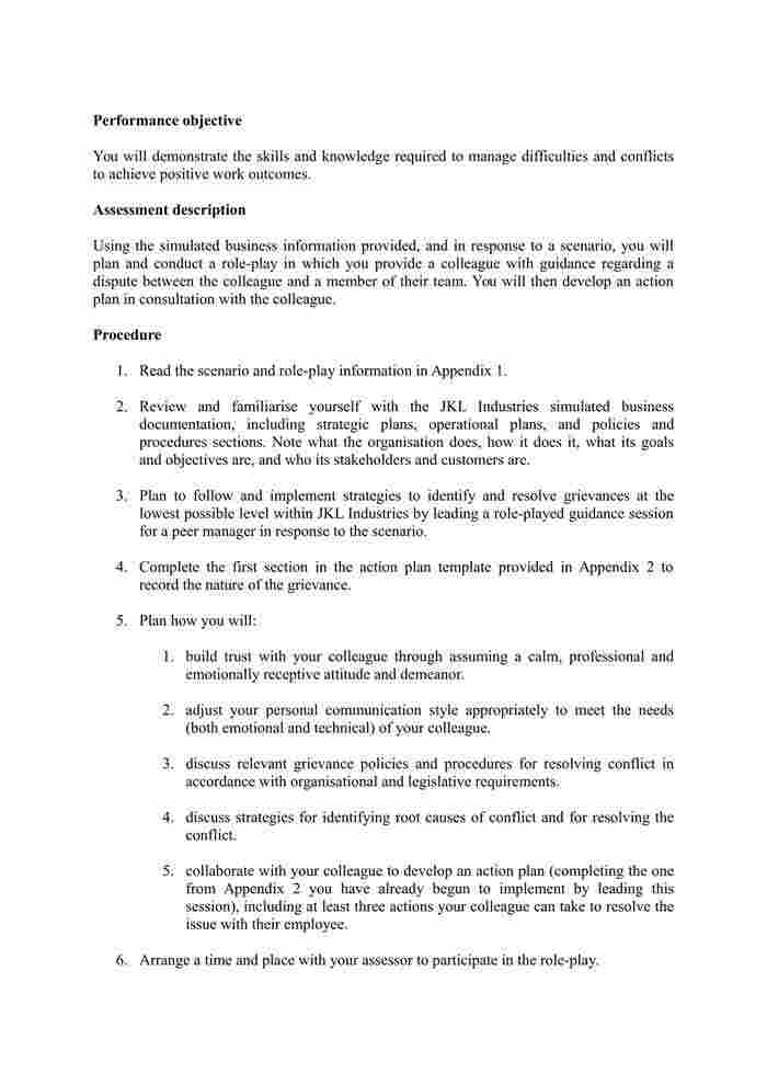 BSBLDR502 - Assessment 3 Resource - IT-1