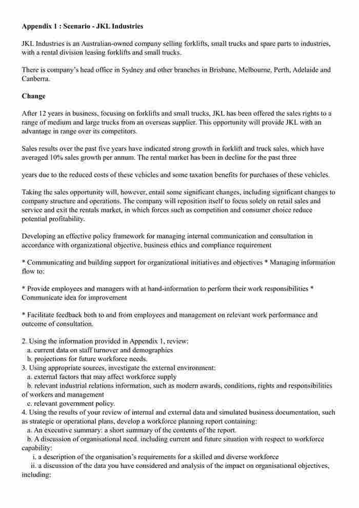 BSBLDR502 - Assessment Resource - IT-1