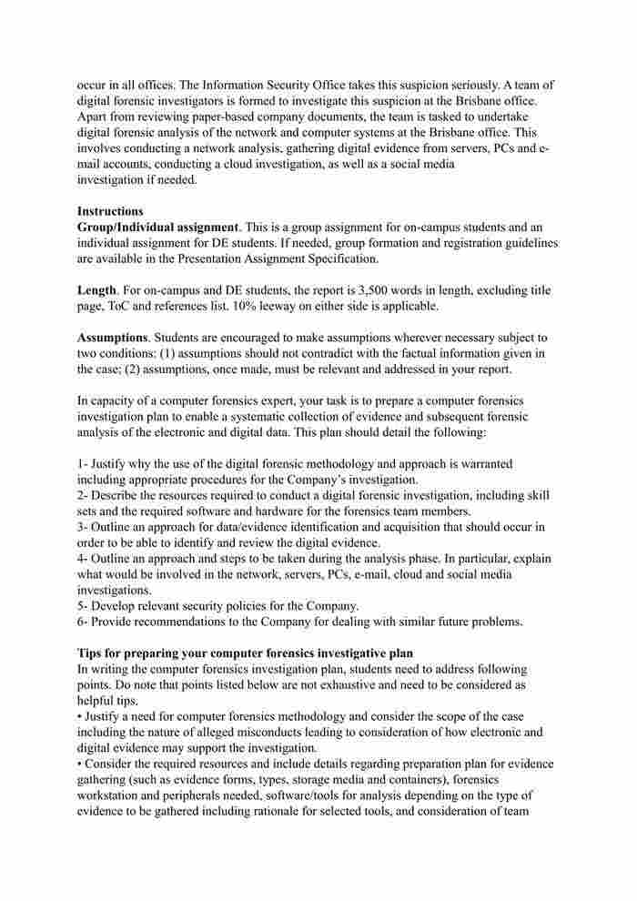 COIT20267 - Computer Forensics - Computer Forensics-3