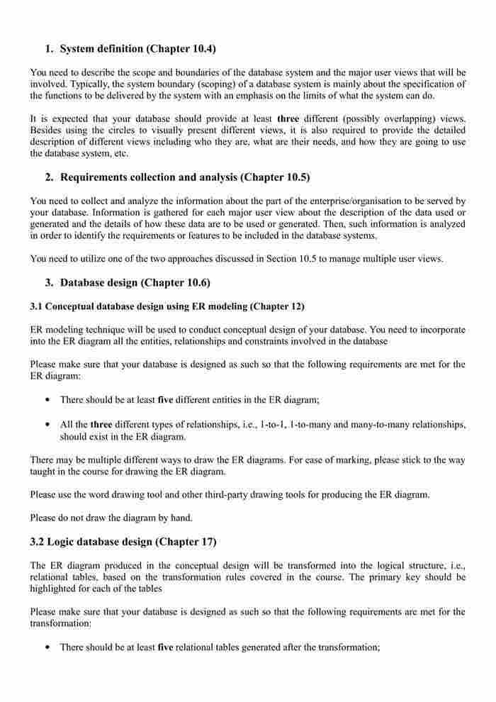 CSC8500 Database Design Assignment 4 - Database Design-1
