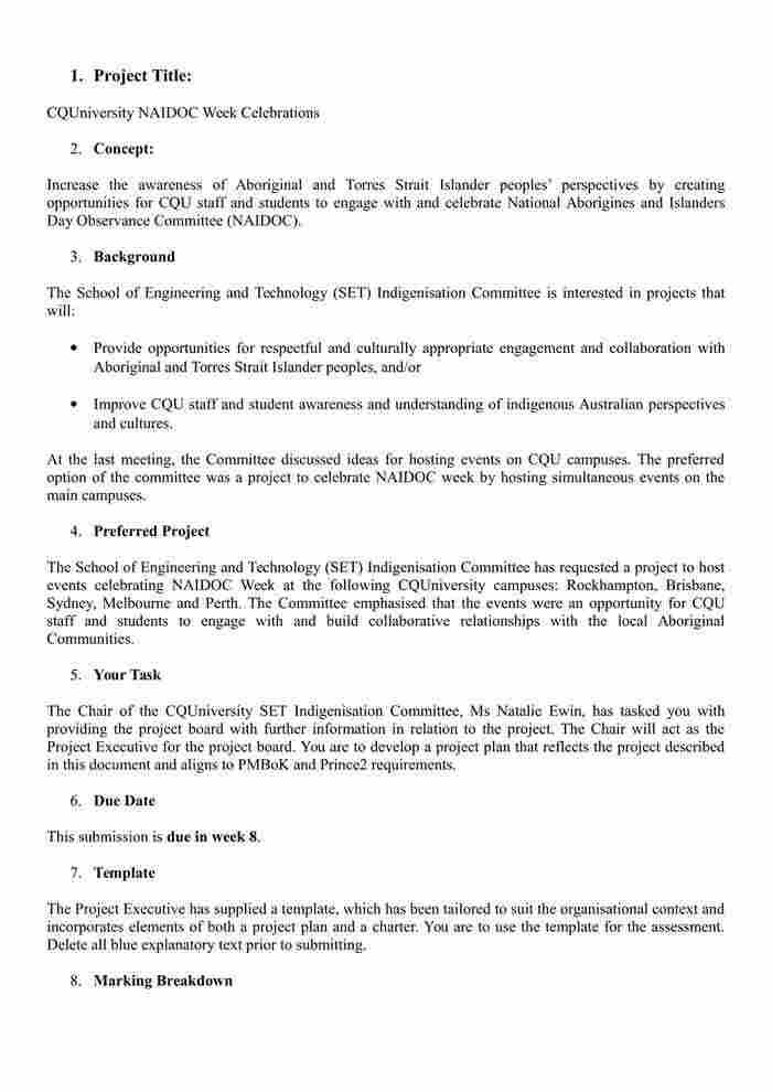 PPMP20008 - Project Scenario - Project Management-1